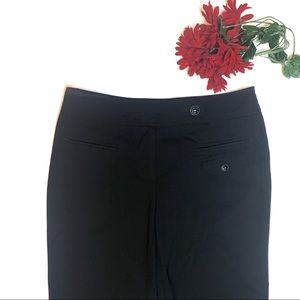 Trina Turk Black Crop Pants